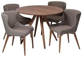 pheno walnut round dining table