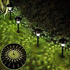 solar garden lights deraysion solar