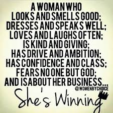Blessed Woman Quote And Image