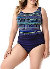 Longitude Swimwear Size Chart Longitude Rio Grande Plus Size X Back One Piece Swimsuit