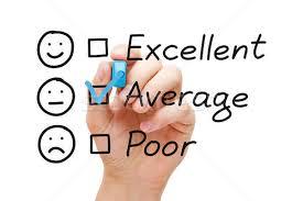Average Customer Service Evaluation Form Stock Photo Ivelin Radkov