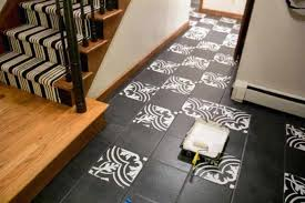 painted tile floor how to paint tile floor painted ceramic tile floor pictures