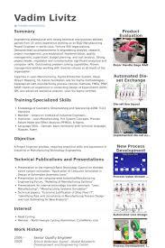 Quality Engineer Resume Samples - Visualcv Resume Samples Database