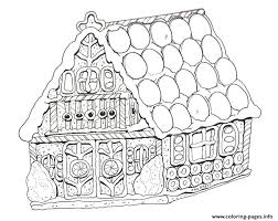 Small Picture GINGERBREAD HOUSE Coloring Pages Free Printable
