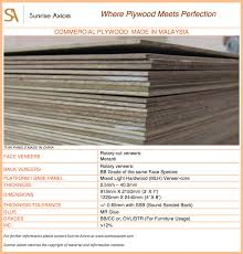 plywood sheet dimensions commercial plywood made in malaysia specification sheet sunrise