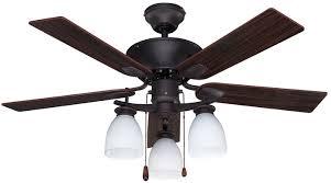 canarm cf42new5orb new yorker dual mount 42 inch ceiling fan with flat opal light kit