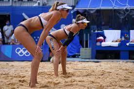 beach volleyball gold medal match ...