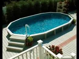 Above ground swimming pool deck design ideas YouTube