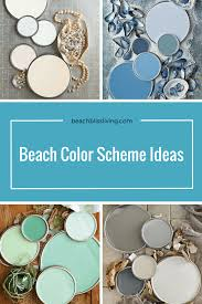 beach house paint colorsCoastal Paint Color Schemes Inspired from the Beach