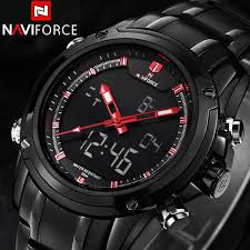 wrist watch companies promotion shop for promotional wrist watch naviforce sport clock men s quartz wrist watch military watch for men full steel men watch relogio masculino reloj hombre 2016