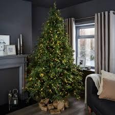 Fresh B Q Pre Lit Christmas Trees Pleasing 7ft 6In Thetford Tree  Departments DIY At