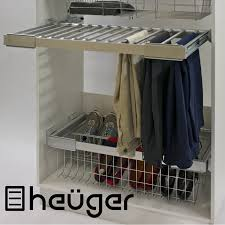 pull out wardrobe trouser rack adjule width from mm to pants c full size