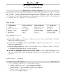Resume Samples For Entry Level Manager Perfect Resume Format