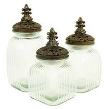 Decorative Jars With Lids IMAX Jacey Lidded Glass Jar Products Jars and Glasses 24