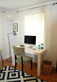 fancy west elm desk for house design minimalist study room ideas with parsons clock