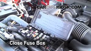 replace a fuse 2009 2014 ford f 150 2009 ford f 150 xlt 5 4l v8 2014 F-150 Fuse Box Signal at Where Is Fuse Box On 2014 F150