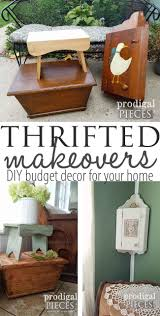 Thrifted Makeovers ~ DIY Budget Decor