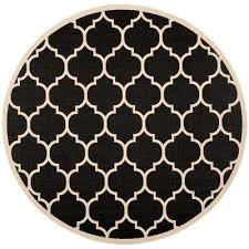 courtyard black beige 4 ft x 4 ft indoor outdoor round area