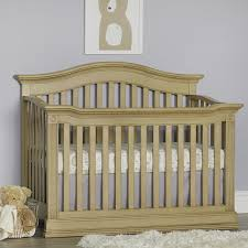 Baby Cache Montana 4-in-1 Convertible Crib - Driftwood