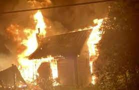 Firefighters respond to a house fire on Coveyville road Sunday morning |  WBIW