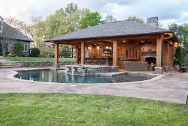 small pool house plans unique outdoor living spaces outdoor solutions jackson ms