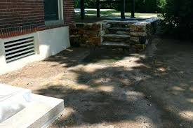 patio making a stone patio stair steps stairs natural stepping stones leading from concrete to