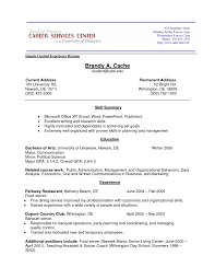 Resume Examples No Experience 100 Resume Examples For Students With No Experience Free Sample 51