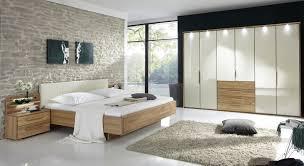 Design Doppelbett Aus Eiche Mit Kunstleder Kopfteil Morley