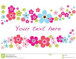 Spring Photo Cards Spring Flower Card Stock Vector Illustration Of Blue 8652589