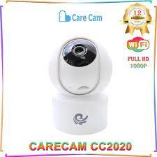 Camera Thông Minh Trong Nhà CareCam CC2020 - Xoay 360 - Báo Động Chống Trộm  - Hàng Chính Hãng