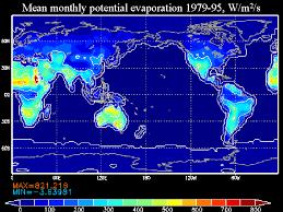 Evaporation Potential Chart Potential Evaporation