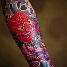 эскизы тату японский стиль Rocktattoo