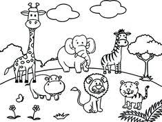 10 Best Zoo Animal Coloring Pages Images