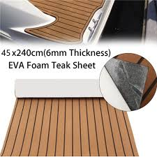 dining room the eva foam teak deck sheet self adhesive boat yacht synthetic intended for floor