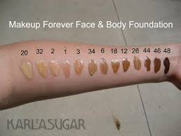 make up for ever mufe face and body foundation