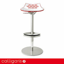 jam swiveling gas lift stool by calligaris  pomphome