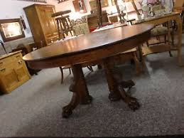 antique oak oval dining table. image is loading antique-oak-oval-dining-room-table-with-massive- antique oak oval dining table r