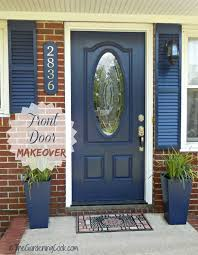 front door curb appealTips for a Front Door Makeover  Before and After  The Gardening Cook