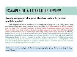 Writing a review of literature for a research paper Pinterest