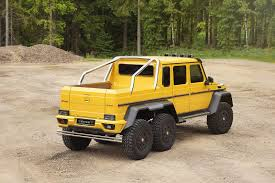 Mercedes G63 AMG 6x6 Tuned to 840 HP by Mansory, Stuffed with ...
