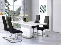 white gloss dining table and chairs inspiring with photo of white gloss style new on