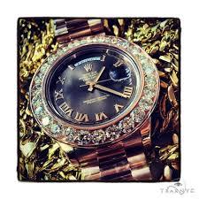 mens diamond rose gold day date presidential rolex watch 10 40ct mens diamond rose gold day date presidential rolex watch 10 40ct