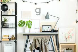 natural concept small office. Home Office Wall Art Design Concept Ideas For Small Spaces Natural A