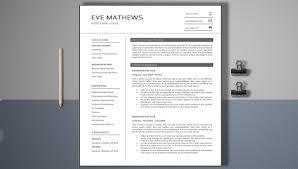 Modern Resume Template Free Pdf 20 Modern Marketing Resume Templates Pdf Doc Free