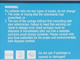 Vetone Insulin Syringes Needles U 40 29 Gauge X 0 5 In 1 Cc 10 Count