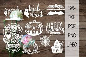 This free svg cut file comes in a single zip file with the following file formats: Free Halloween Bundle Sugar Skull Pumpkin Bat And More Svg Dxf Png Pdf In 2020 Free Halloween Sugar Skull Pumpkin Skull Pumpkin