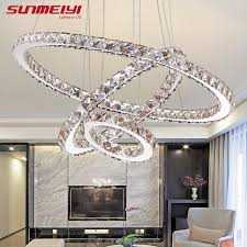 modern led crystal chandelier lights lamp for living room cristal re chandeliers lighting pendant hanging ceiling fixtures sphere chandelier rectangle