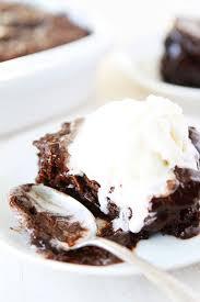 chocolate cake with vanilla ice cream. Modren Cake Chocolate Pudding Cake Recipe And With Vanilla Ice Cream I