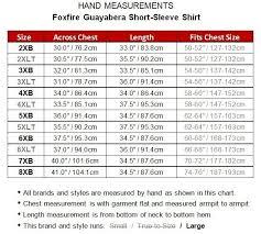 Big And Tall Mens Guayabera Short Sleeve Shirt 2xl 8xl 2xlt 6xlt Foxfire