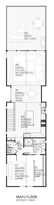 Design for a narrow lot (second floor)... Cottage Style House PlansGuest ...